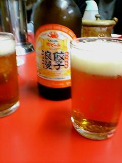 宇都宮餃子とビール